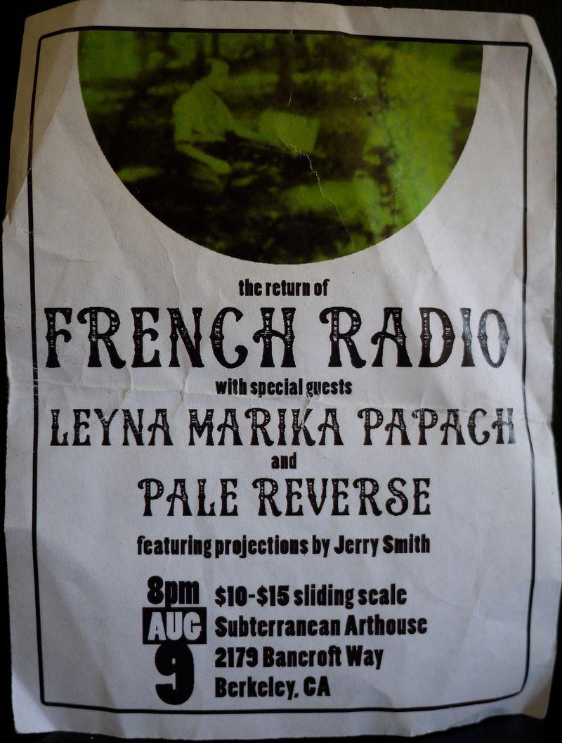 French Radio Flyer