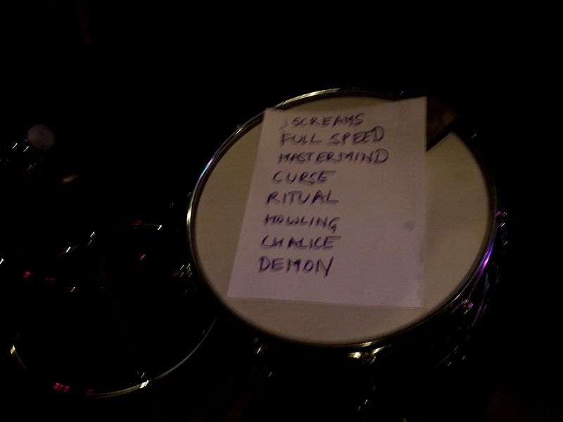 Night Demon set list