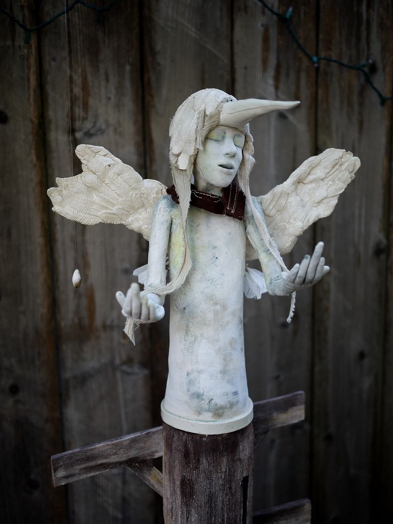 Sculpture by Charity Romero
