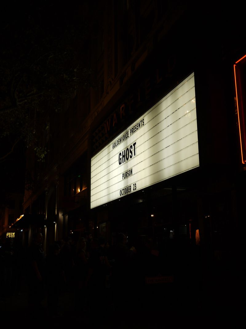 Ghost Marquee