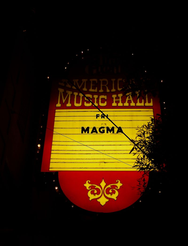 Magma Marquee